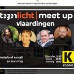 Vlaardingen heeft ook een lokale Tegenlicht, met woensdag 15 juli de #meetup Nederland Kantelt met o.a. @nynkeschaaf http://t.co/FN4ME51zw1