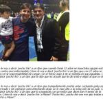"""El mensaje del """"Burrito"""" Ortega para Messi, tras perder la Copa América. [Vía Cambio Táctico] http://t.co/8dZAfvh1ye"""