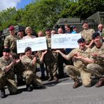 Soldiers fundraise @RunBournemouth 2014 for @Poole_Hospital by running with their backpacks! http://t.co/C5qbbazHTs http://t.co/IKwQp8oYjS