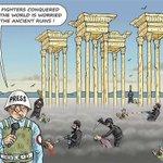 الاعلام العالمي: داعش سيطر على مدينة تدمر، والعالم قلق على آثار المدينة التاريخية http://t.co/AAlLW6Q5wR