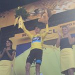 .@chrisfroome de retour en jaune / back in yellow #TDF2015 http://t.co/a1o7JVshyM