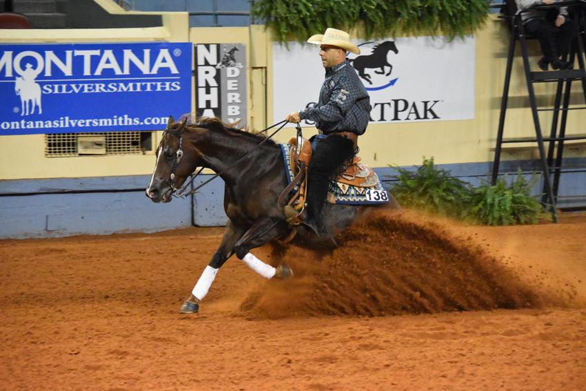 Reining #horse pro Craig Schmersal gives his spin on red tape at NRHA Derby: http://t.co/MmAnO20jMC @OmegaAlphaEQ http://t.co/Ufs7iNX8b4