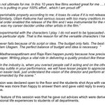 RT @Actorarya_FC: Here are a few highlight quotes of @arya_offl from his interesting session with the aspiring filmmakers at BOFTA!