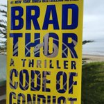 @BradThor #CodeOfConduct is next level.   You definitely took this book beyond expectations!!!