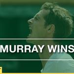 Hes done it. Murray beats Ivo Karlovic 7-6 6-4 5-7 6-4 #Wimbledon Watch: @BBCOne http://t.co/2Ke0DEw3pq http://t.co/nfXQYsHUh3