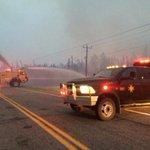 Mayor says wildfires pose serious threat to La Ronge, #Saskatchewan. Mandatory evacuation order in effect. #skfire http://t.co/znLkIVPo9q