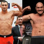 """""""@TSBible: Tyson Fury has got his wish, he will fight Wladimir Klitschko in Dusseldorf on October 24th! http://t.co/aywLHEmPQw"""" Furys fucked"""