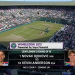 Watch Live: N. Djokovic vs. (14) K. Anderson (Round of 16) #ILLINI http://t.co/zxVRDiCCT7 http://t.co/zwbA0Ro4xS