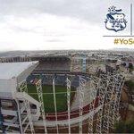 #Vídeo Así lucen los avances del estadio Cuauhtémoc desde las alturas. https://t.co/clYVzrI62c http://t.co/SfVYe9wxWD