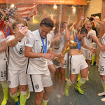 The #USWNT won its first World Cup in 16 years and partied like it was 1999. PHOTOS: http://t.co/kUSIHZmyf1 http://t.co/Zi5nMUvCRo