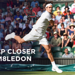 Seven-time champion @rogerfederer is into his 13th #Wimbledon QF, easing past Roberto Bautista Agut 6-2, 6-2, 6-3 http://t.co/yB67zl7QK8