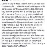 El emotivo mensaje de Ariel El burrito Ortega hacia Lionel Messi. http://t.co/FKxLyRn25c