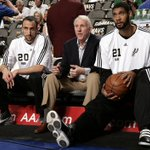 Manu Ginobili, back for a 14th season in San Antonio. Tim Duncan, back for a 19th. Gregg Popovich, back for a 20th. http://t.co/qbXhE9rRwy