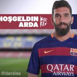 OFFICIAL- @fcbarcelona announce the signing of @ArdaTuran10line Welcome Arda! http://t.co/MVxHkgwOsv