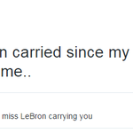 Did LeBron carry Dwyane Wade in Miami? The latter answered in a candid Twitter Q&A with fans: http://t.co/ZpiIQuKkOr http://t.co/P9VFTIL2Pb