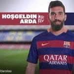 OFICIAL. Arda Turan se convirtió en nuevo jugador del Barcelona. Llega procedente del Atlético Madrid. #Fichajes http://t.co/mFpTEwcKaq