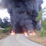 Otro atentado en el Putumayo, oleoducto cerca de la Hormiga http://t.co/EvY6bDSZei