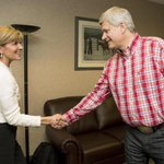 Meeting @pmharper in his home town of Calgary on deeper Australia Canada relations during #calgarystampede ???????????????? http://t.co/zm5HUcuWXw