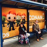 Even the king of Comic-Con must take the bus. #ConanCon #SDCC http://t.co/uxni40B9BT
