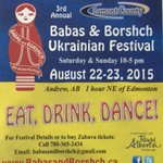 "RT ""@BabasAndBorshch: Pick up copy @tomatofooddrink 4 easy-instructions: Eat, Drink, Dance! #yeg #foodie #Ukrainian http://t.co/BFGchcBnRl"""