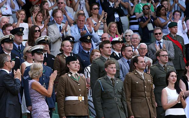 A Wimbledon welcome for wounded heroes - http://t.co/Rop9DI7jm1 _ @BeyondInjury @H4H_SR @Blesma http://t.co/WQ5IdcrN4d