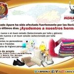 #VenezuelaNoSeRinde La @JBPSEMLO activa centro de acopio en solidaridad con hermanos de #Apure @jmlacourt #Monagas http://t.co/SAx9ruyTaW