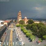 Nubes anunciando tormenta en #Morelia #MIchoacán. Temperatura: 25° C. http://t.co/2bFfuG2Zeb