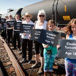 A Portland, OR, memorial to the 47 people incinerated by a bomb train in Lac Megantic. #stopoiltrains #LacMegantic http://t.co/PYZhO0GQ8y