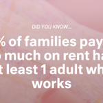 A quarter of American families put half of their earnings towards rent. Learn more: http://t.co/EcDuW9V4Jx #MakeRoom http://t.co/wHHKKxggOz