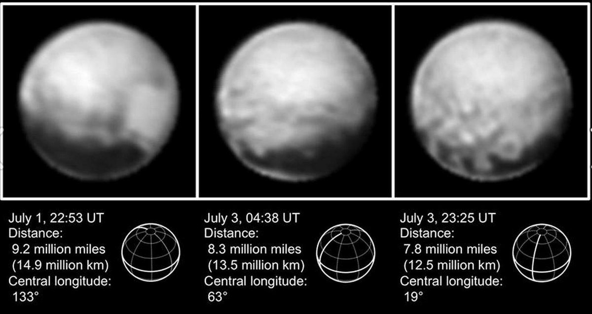 The new Pluto hi resolution images are stunning..... @NewHorizons2015 http://t.co/PnwGk5enLP