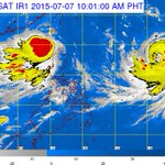 Typhoon #Chanhom last spotted at 1,620 km E of Luzon (11 AM); expected to enter PAR this afternoon or evening http://t.co/Os0F650VGr