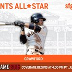Congrats, @bcraw35, on earning a spot on the NL #ASG team! #WeAreGiant http://t.co/r8FYZyt02f