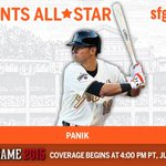 .@JoePanik is an All-Star! Congrats on being named to the NL #ASG team! #WeAreGiant http://t.co/SqddSgDpAo