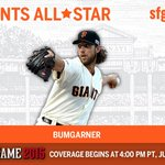 Congrats to #MadBum on being named to the NL #ASG team! #WeAreGiant http://t.co/zUHdVCwmdg