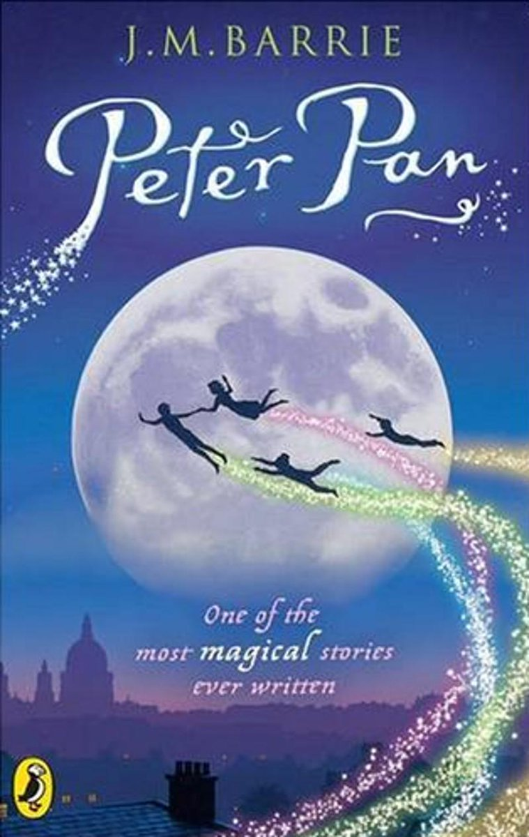 Peter Pan inspires me to this day. That's the power of books & education. Please support @malalafund #booksnotbullets http://t.co/Lcf3wm5euH