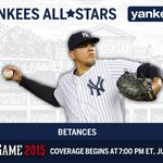 Congrats to @DBetances50 on being named to the AL #ASG team! #PinstripePride http://t.co/x2gSwe2N7t