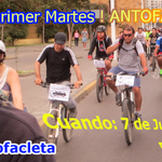 #antofagasta recuerda mañana venir a pedalear a #cicletadaprimermartes +info en https://t.co/oxZdVgRPAC http://t.co/eKHihBYO21