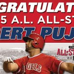 Congratulations to @PujolsFive on being named to his 10th career @AllStarGame! http://t.co/7eT2u0EiNW