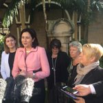 Premier @AnnastaciaMP announces response to DV report - $31m over 4 years incl trial of specialist court at Southport http://t.co/XIAG56icxe