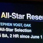 Hey @ESPN how about this instead: 1st All-Star Selection Leads AL Catchers in AVG, H, HR, RBI, BB, OBP, SLG, OPS, WAR http://t.co/LbP1K46Bui
