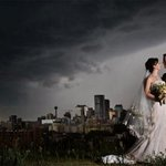 Dramatic wedding photo captures stormy moment before Calgary downpour http://t.co/dJlqdoey6s http://t.co/mcudjWi3Ah