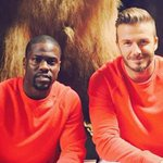 We love how David Beckham & @KevinHart4real are #twinning real hard at an @hm shoot: http://t.co/mHB8qCRdj3 http://t.co/WoR0ThaLdW