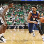 Jahlil Okafor finishes with 20 Pts & 9 Reb in 76ers summer league opener vs Spurs. http://t.co/FrWYmjRhqO