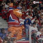 Youppi! sera lune des mascottes dans #NHL16 http://t.co/BY8ifleODY