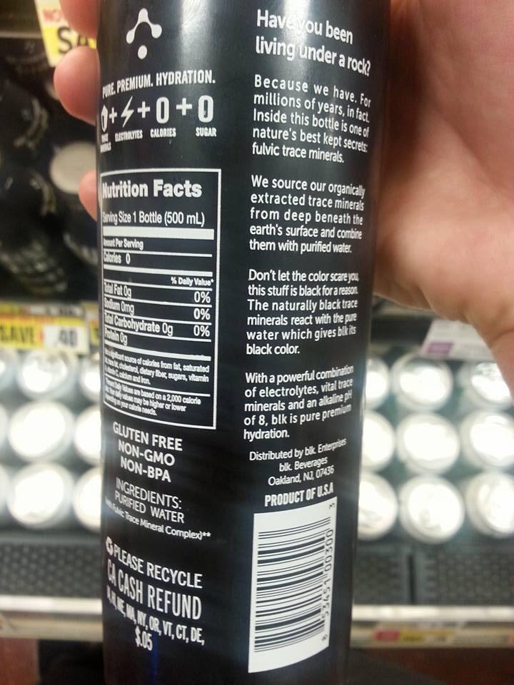 Finally a product you have been waiting for - Non-GMO, Gluten-free, organic Water!  Via Alison Cheevers http://t.co/TxgAAlQORA