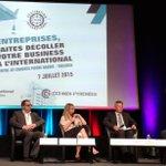 Export : sujet stratégique pour @La_Melee  Intervention de @janstevens au Forum International Toulouse http://t.co/2OCV1Izths