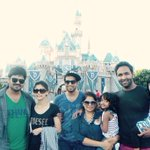 That wraps our day in Disneyland! Great fun! Super exhausted!! @iVishnuManchu @HeroManoj1 @Bobby_Reddy