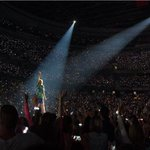 Back on the road! Insane crowd in Ottawa tonight! #1989TourOttawa http://t.co/svXgPxzSNC
