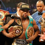 """AD BREAK """"@eNCASport: Mayweather stripped of the title he won in the Pacquiao fight http://t.co/WhLFXd4L8g http://t.co/vANpNWLGTJ"""""""
