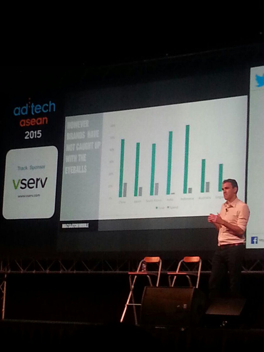 """Moving on, we have """"Downloads are Vanity. Sales are Sanity"""" by @cgsteedman #adtechasean #mobile  #ROI http://t.co/CoFiuG2XLu"""